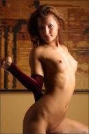 Karina in Red Velvet gallery from MPLSTUDIOS by Alexander Fedorov - #6
