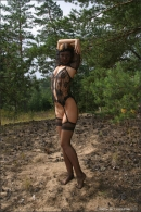Lika in Alone In The Pines gallery from MPLSTUDIOS by Alexander Fedorov - #15