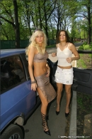 Mishel And Lena in Behind The Scenes gallery from MPLSTUDIOS by Alexander Fedorov - #10