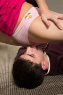 Kira D in Flexible Teen Spreads Her Legs Wide Open gallery from CLUBSEVENTEEN - #10