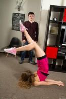 Kira D in Flexible Teen Spreads Her Legs Wide Open gallery from CLUBSEVENTEEN - #4