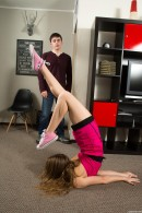Kira D in Flexible Teen Spreads Her Legs Wide Open gallery from CLUBSEVENTEEN - #6