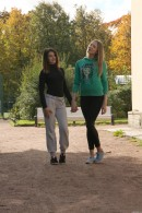 Nikol B & Sofia D in Young Lesbian Girls Toying Each Other gallery from CLUBSEVENTEEN - #10