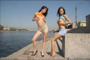 Vika And Maria in The Girls Of Summer gallery from MPLSTUDIOS by Alexander Fedorov - #15