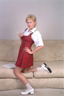 Wanda in coeds in uniform gallery from ATKARCHIVES - #1