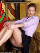 Anna in upskirts and panties gallery from ATKARCHIVES - #8