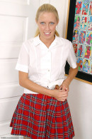 Cassie Young in coeds in uniform gallery from ATKARCHIVES - #9