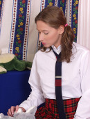 Veronika in coeds in uniform gallery from ATKARCHIVES - #1
