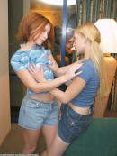 Chastity & Coral in lesbian gallery from ATKARCHIVES - #9