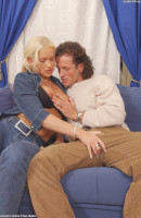 Stacy Silver in blowjob gallery from ATKARCHIVES - #1