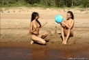 Vika And Kamilla in The Girls Of Summer gallery from MPLSTUDIOS by Alexander Fedorov - #13