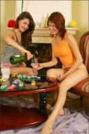 Nata And Syndi in Celebrate: New Years 2006 gallery from MPLSTUDIOS by Alexander Fedorov - #12