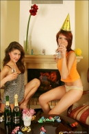 Nata And Syndi in Celebrate: New Years 2006 gallery from MPLSTUDIOS by Alexander Fedorov - #14