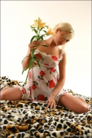 Mishel in Flowers From The Garden gallery from MPLSTUDIOS by Alexander Fedorov - #13