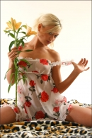 Mishel in Flowers From The Garden gallery from MPLSTUDIOS by Alexander Fedorov - #14