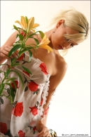 Mishel in Flowers From The Garden gallery from MPLSTUDIOS by Alexander Fedorov - #15