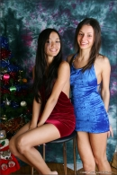 Vika And Kamilla in Merry Christmas gallery from MPLSTUDIOS by Alexander Fedorov - #13