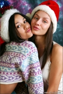 Vika And Kamilla in Merry Christmas gallery from MPLSTUDIOS by Alexander Fedorov - #14