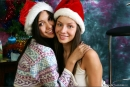 Vika And Kamilla in Merry Christmas gallery from MPLSTUDIOS by Alexander Fedorov - #15