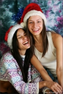 Vika And Kamilla in Merry Christmas gallery from MPLSTUDIOS by Alexander Fedorov - #4