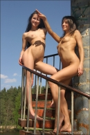 Vika And Maria in Stairway To Heaven gallery from MPLSTUDIOS by Alexander Fedorov - #13