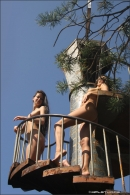 Vika And Maria in Stairway To Heaven gallery from MPLSTUDIOS by Alexander Fedorov - #2