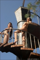 Vika And Maria in Stairway To Heaven gallery from MPLSTUDIOS by Alexander Fedorov - #3
