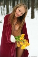 Masha in Winter Angels gallery from MPLSTUDIOS by Mikhail Paromov - #15