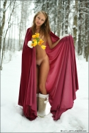 Masha in Winter Angels gallery from MPLSTUDIOS by Mikhail Paromov - #7