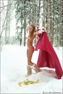 Masha in Winter Angels gallery from MPLSTUDIOS by Mikhail Paromov - #8