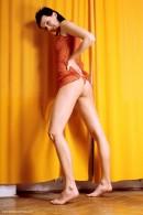 Marcela in Orange Strip gallery from ERROTICA-ARCHIVES by Erro - #10