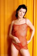 Marcela in Orange Strip gallery from ERROTICA-ARCHIVES by Erro - #13