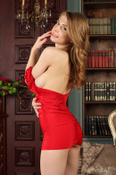 Eva Gold in The Library gallery from STUNNING18 by Antonio Clemens - #1