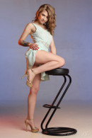 Eva Gold in High Stool gallery from STUNNING18 by Antonio Clemens - #3