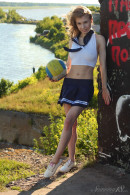 Eva Gold in Teen-style gallery from STUNNING18 by Antonio Clemens - #15