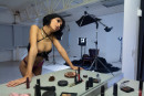 Natali Leon in For The First Time In The Studio gallery from WATCH4BEAUTY by Mark - #1