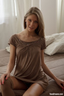 Anjelica Has Brown Stockings On gallery from TEENDREAMS - #10