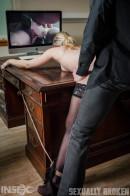 Riley Reyes & Jesse Dean in Suckretary gallery from SEXUALLYBROKEN - #11