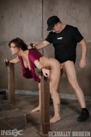 Sexy MILF Syren De Mer Getswhat She Wants; Brutal Facefucking, Two Cock Beatdown! gallery from SEXUALLYBROKEN - #6