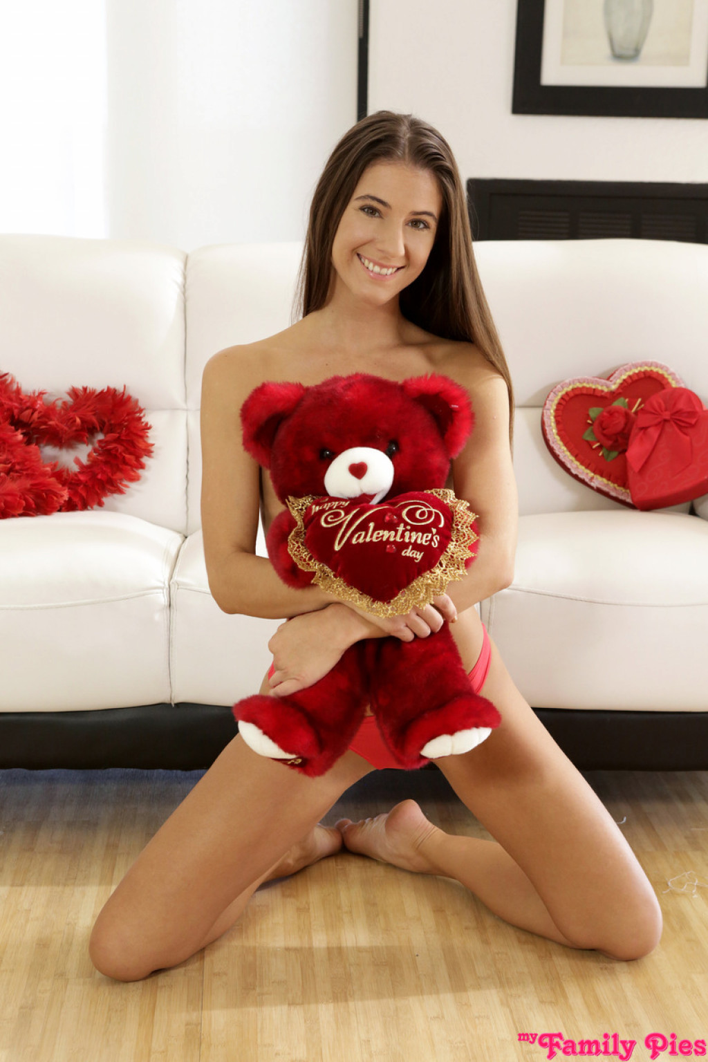 Valentines Day Nude  Hot Girl Hd Wallpaper-7561