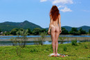 Callista Simon in Sky Blue gallery from EROTICBEAUTY by Matiss - #2