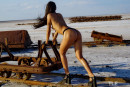 Maarit in Edge Of The Earth 1 gallery from THELIFEEROTIC by Oliver Nation - #6
