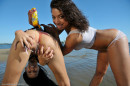 Diva & Nazri in Beach Lover gallery from ERROTICA-ARCHIVES by Albert Varin - #4