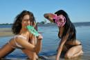 Diva & Nazri in Beach Lover gallery from ERROTICA-ARCHIVES by Albert Varin - #5