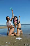 Diva & Nazri in Beach Lover gallery from ERROTICA-ARCHIVES by Albert Varin - #6