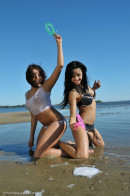 Diva & Nazri in Beach Lover gallery from ERROTICA-ARCHIVES by Albert Varin - #7