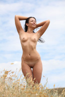 Lusee in Purple Field gallery from EROTICBEAUTY by Yann - #11