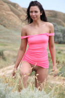 Lusee in Purple Field gallery from EROTICBEAUTY by Yann - #2