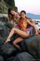 Natasha & Marina in Paradise gallery from METMODELS by Skokov - #2