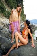 Natasha & Marina in Paradise gallery from METMODELS by Skokov - #8